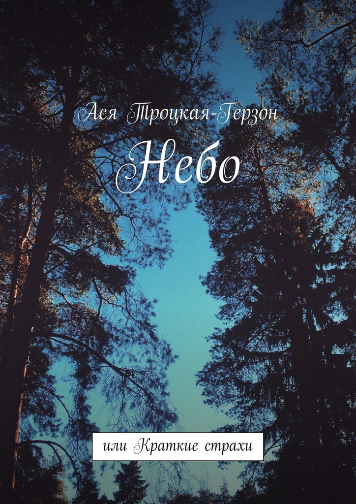 Ася Троцкая-Герзон Небо. или Краткие страхи лёня герзон приключения никтошки