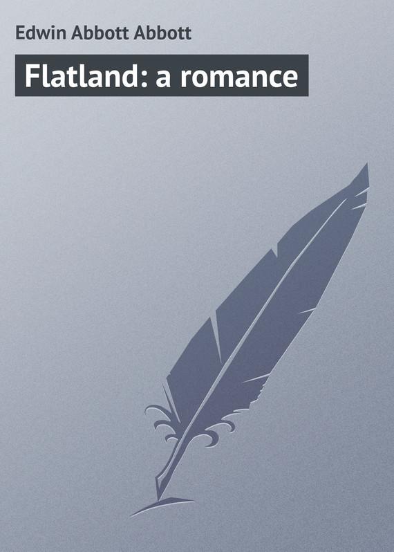 Edwin Abbott Abbott Flatland: a romance abbott 100 0 12 370g