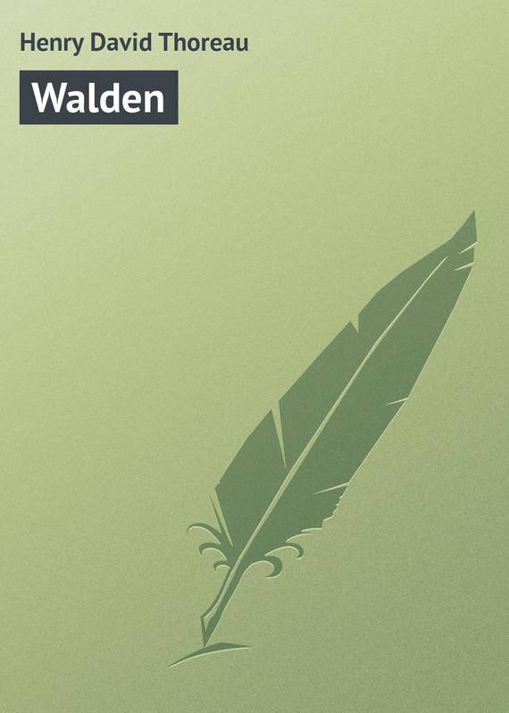 Henry David Thoreau Walden walden