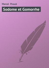 - Sodome et Gomorrhe