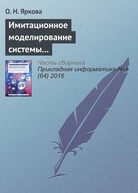 Яркова, О. Н.  - Имитационное моделирование системы обслуживания пассажиров вылетающих рейсов на примере аэропорта «Оренбург»