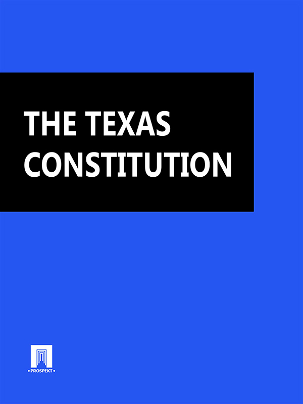 Texas THE TEXAS CONSTITUTION texas cap roig page 3