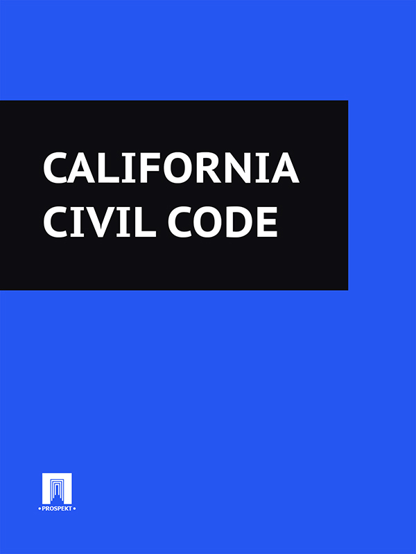 California California Civil Code