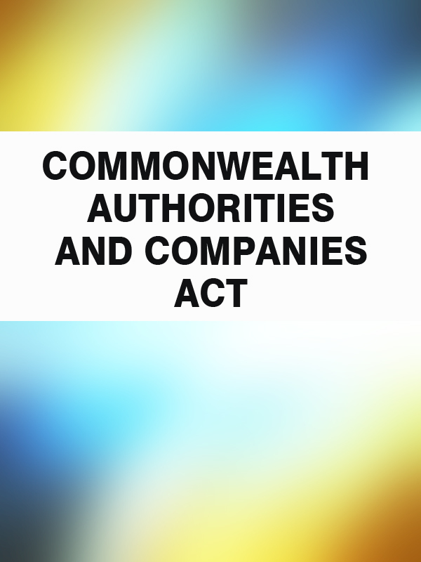 commonwealth-authorities-companies-act