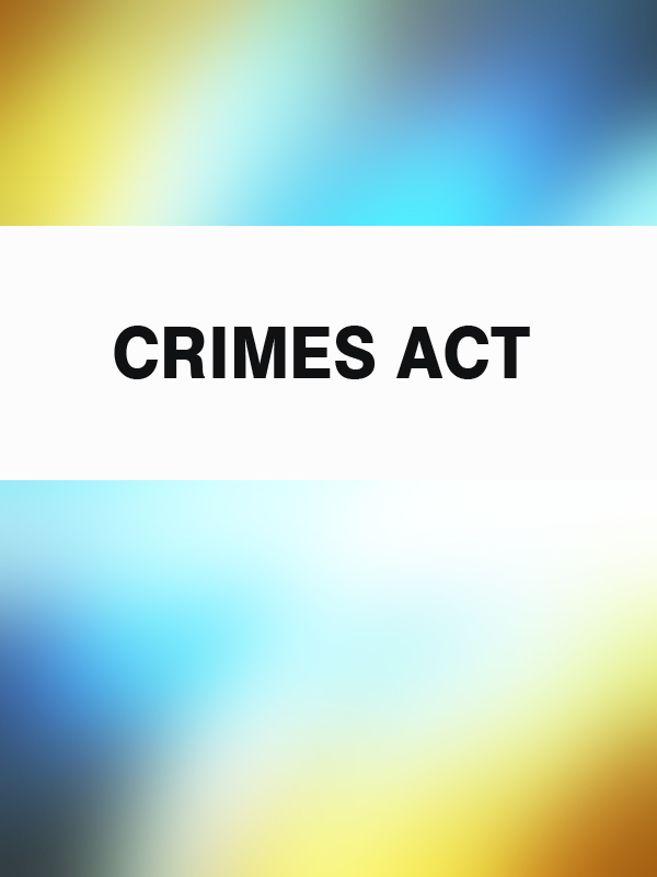 Australia Crimes Act