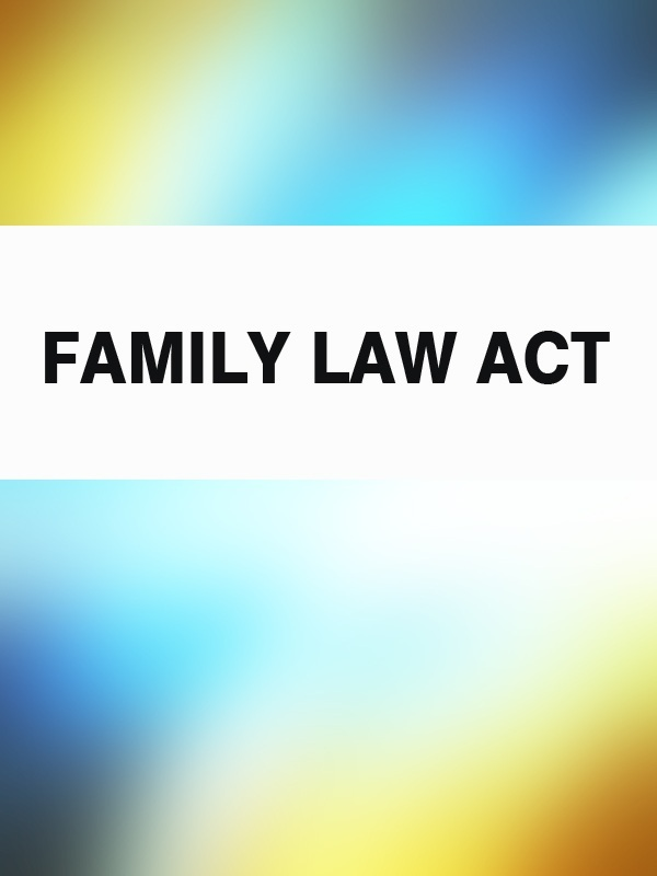 Australia Family Law Act family law gender