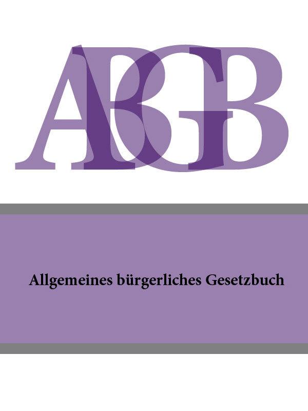 Allgemeines burgerliches Gesetzbuch (ABGB)