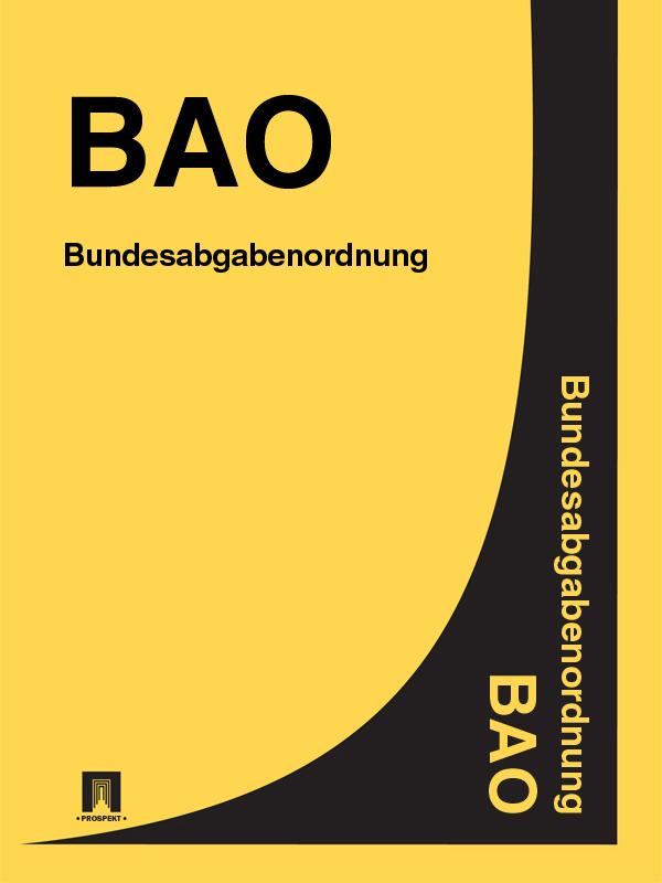 Österreich Bundesabgabenordnung (BAO) паяльник bao workers in taiwan pd 372 25mm
