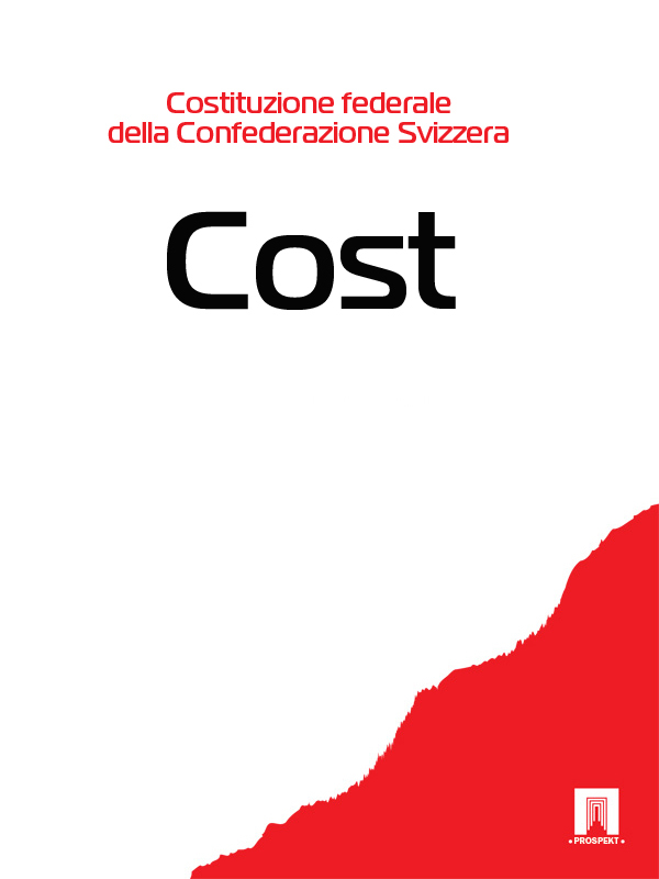 Svizzera Costituzione federale della Confederazione Svizzera – Cost. freight cost controlling
