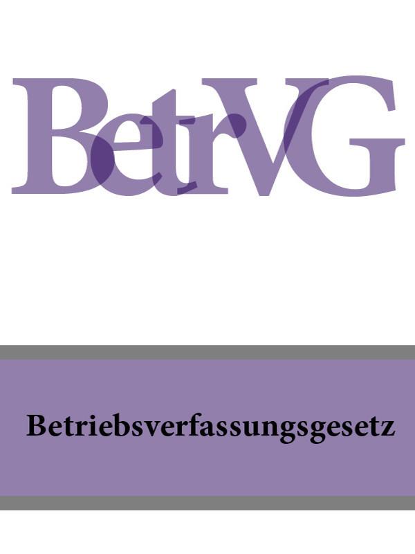 Deutschland Betriebsverfassungsgesetz – BetrVG ISBN: 9785392042074 ботинки der spur der spur de034amwiz42