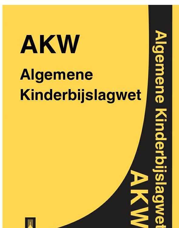 Algemene Kinderbijslagwet – AKW