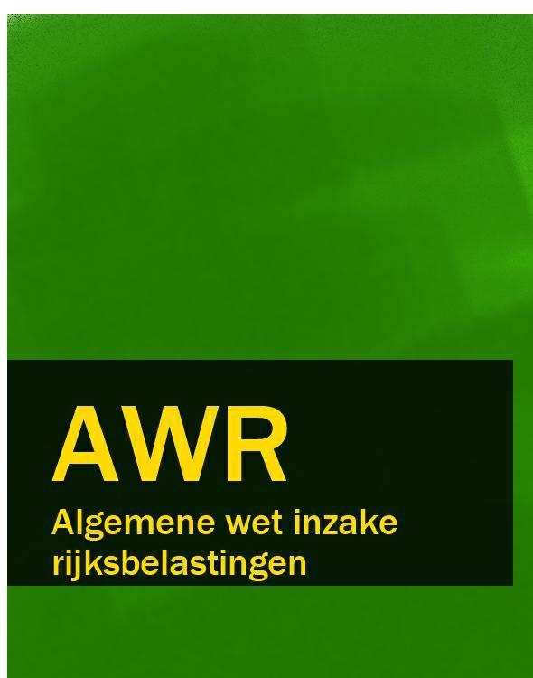Algemene wet inzake rijksbelastingen – AWR