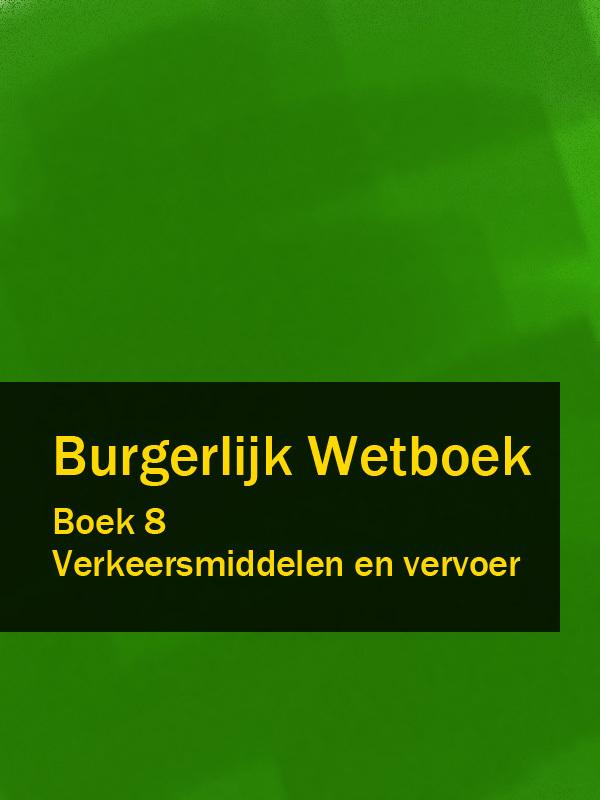 Nederland Burgerlijk Wetboek boek 8 f32 100hip en25f32 100hip op 8