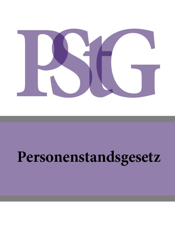 Personenstandsgesetz – PStG