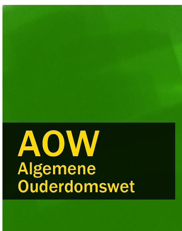 Algemene Ouderdomswet – AOW