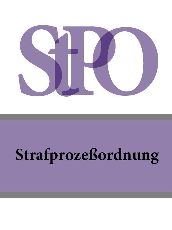 Deutschland Strafprozeßordnung – StPO дутики der spur der spur de034amde817