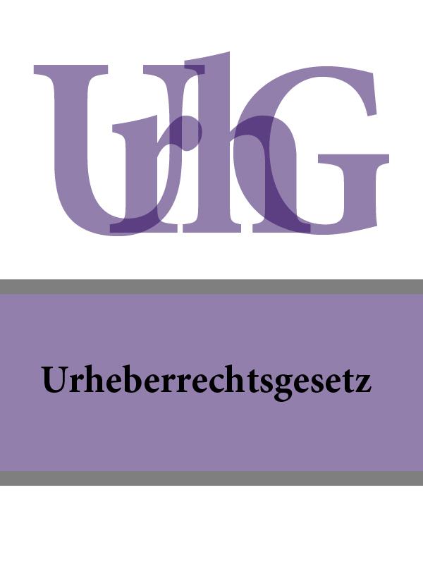 Urheberrechtsgesetz – UrhG