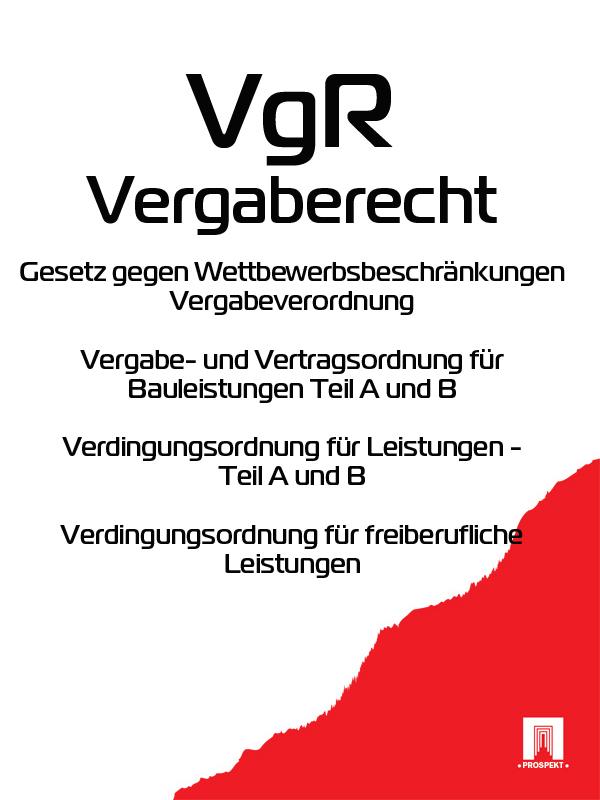 Deutschland Vergaberecht – VgR pris für dümmi