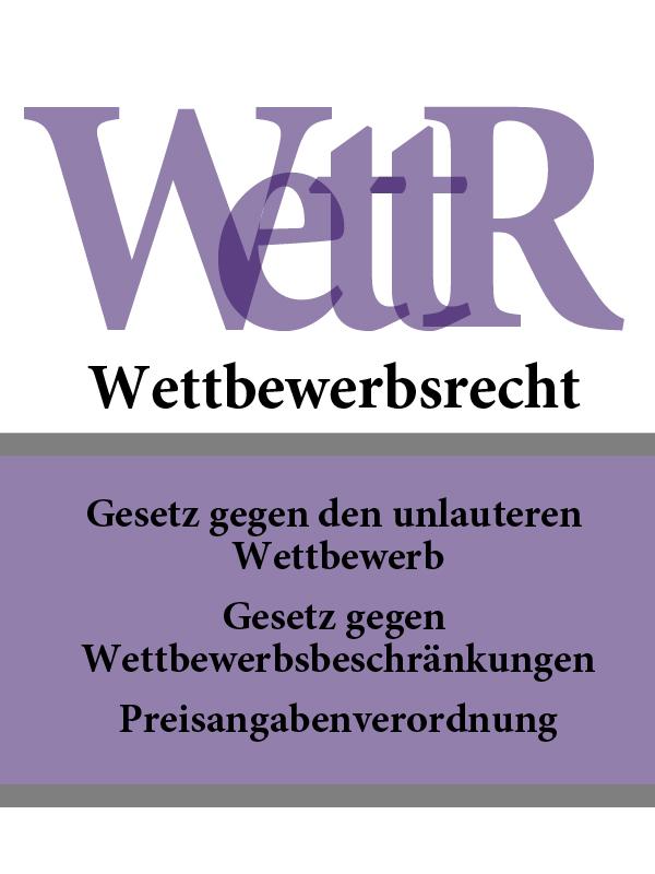 Wettbewerbsrecht – WettR