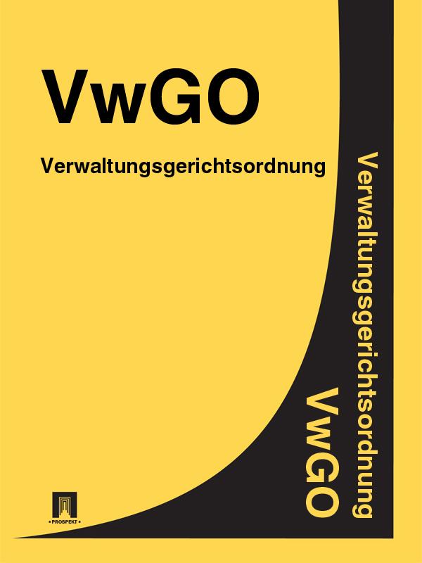Verwaltungsgerichtsordnung – VwGO