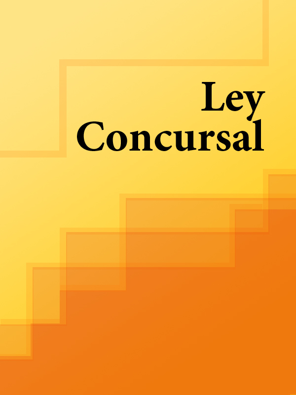 Espana Ley Concursal