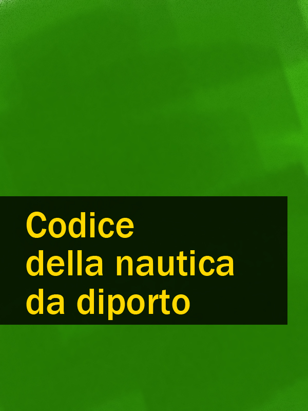 Italia Codice della nautica da diporto italia codice di procedura civile