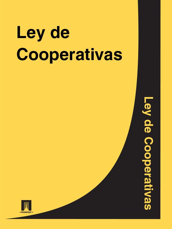 Espana Ley de Cooperativas
