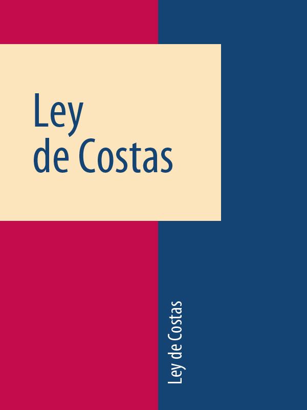 Espana Ley de Costas