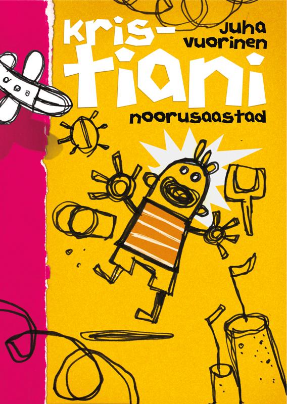 Обложка книги Kristiani noorusaastad, автор Juha Vuorinen