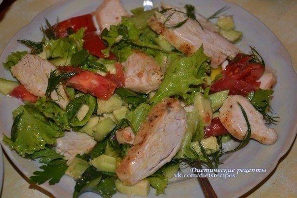 Салат с курией фото-рецепт