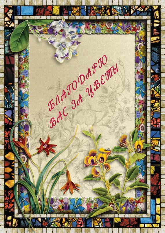 Коллектив авторов Благодарю вас за цветы золотая книга целителей разных стран
