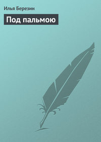 Березин, Илья  - Под пальмою