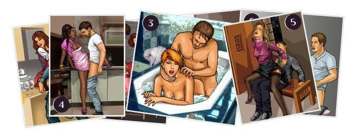 Книга Домашние секреты. 40 вариантов любви на кухне, в ...