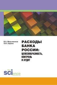 Владимир Морыженков - Расходы Банка России. Целесообразность, контроль и аудит