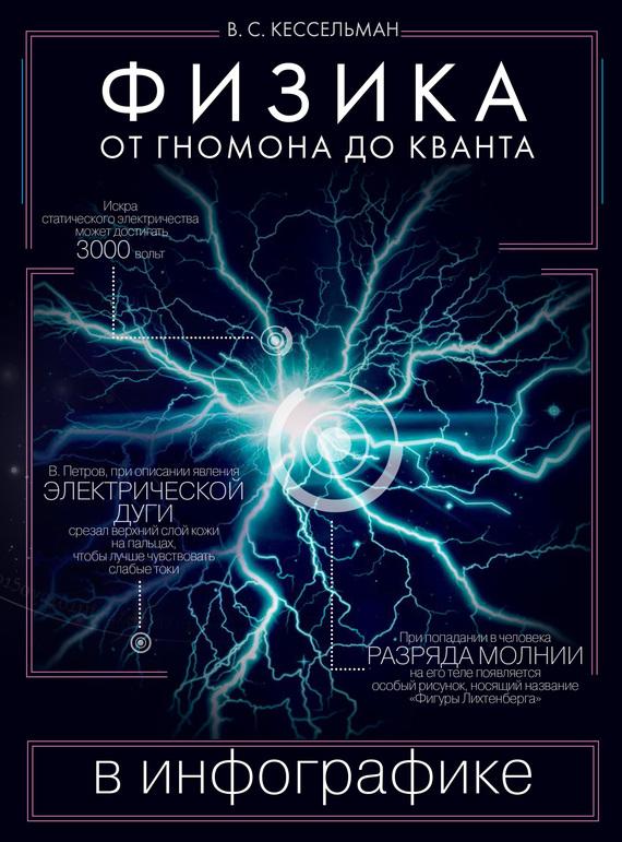 Обложка книги Физика в инфографике. От гномона до кванта, автор Кессельман, Владимир
