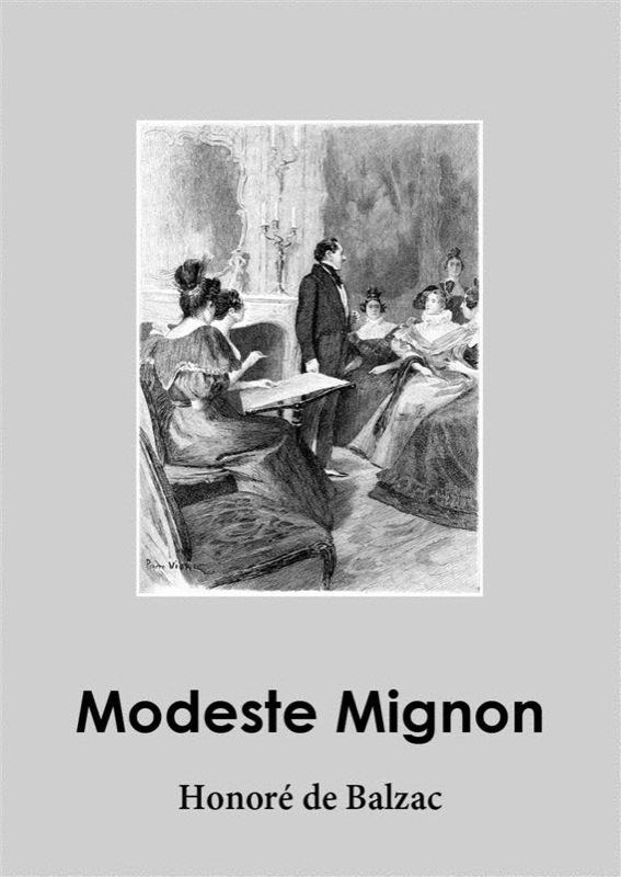 Оноре де Бальзак Modeste Mignon modeste mignon