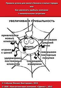 Соболев, Михаил  - Правила успеха для малого бизнеса в малых городах, или Как увеличить прибыль компании с минимальными затратами