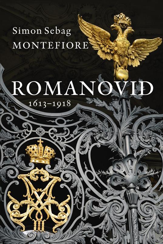 Обложка книги Romanovid. 1613–1918, автор Simon Sebag Montefiore