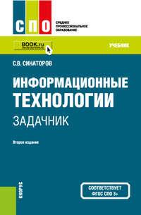 Синаторов, Сергей Владимирович  - Информационные технологии