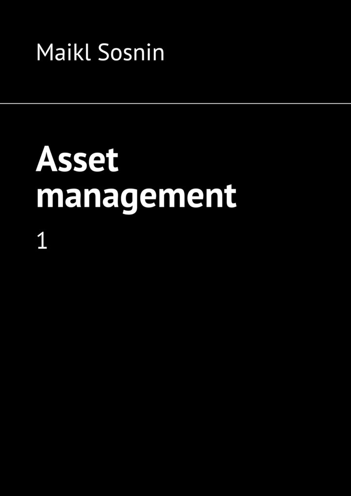 Maikl Sosnin Asset management. 1 corporate real estate asset management