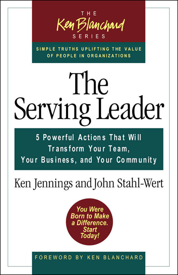 Ken Jennings Serving leaders