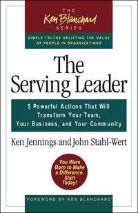 Jennings, Ken  - Serving leaders