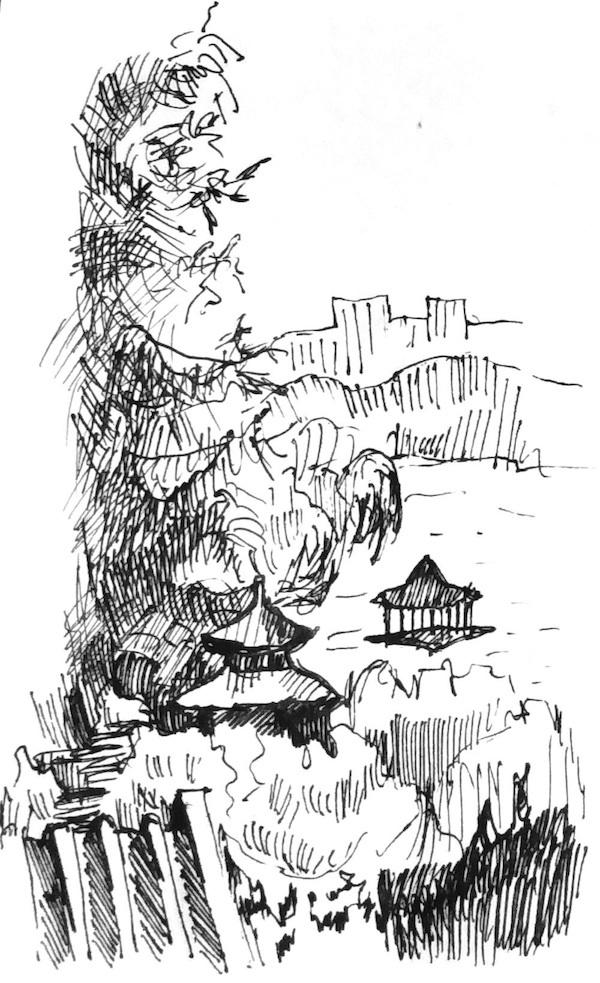 Нина Силаева Стихотворения о Китае. Осыпаются бордюры времени
