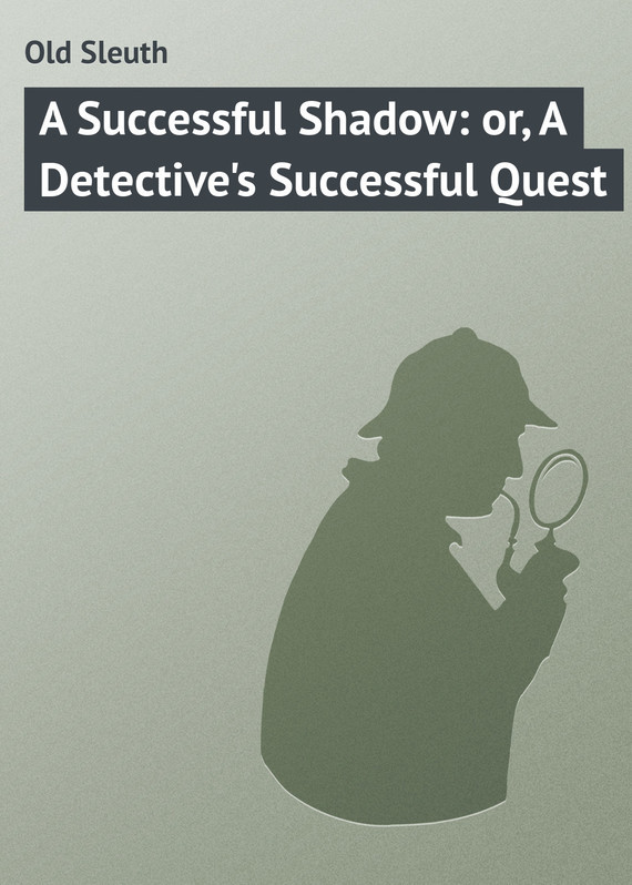 A Successful Shadow: or, A Detective's Successful Quest