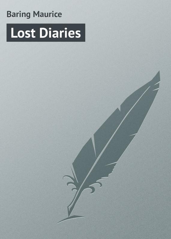Baring Maurice Lost Diaries shamrock diaries cd