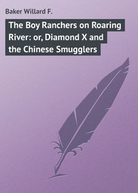 F., Baker Willard  - The Boy Ranchers on Roaring River: or, Diamond X and the Chinese Smugglers
