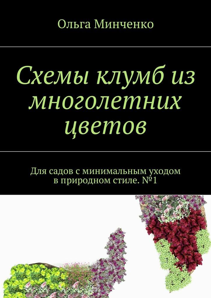 Схемы клумб из многолетних цветов. Для садов сминимальным уходом вприродном стиле.№1 ( Ольга Минченко  )