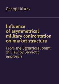 Hristov, Georgi  - Influence of asymmetrical military confrontation on market structure. From the Behavioral point of view by Semiotic approach