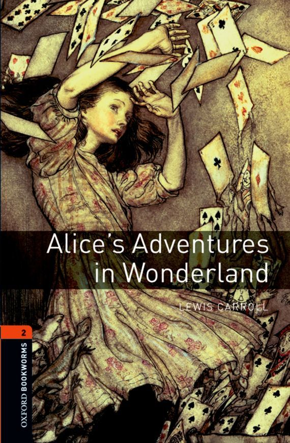 Льюис Кэрролл Alice's Adventures in Wonderland down the rabbit hole