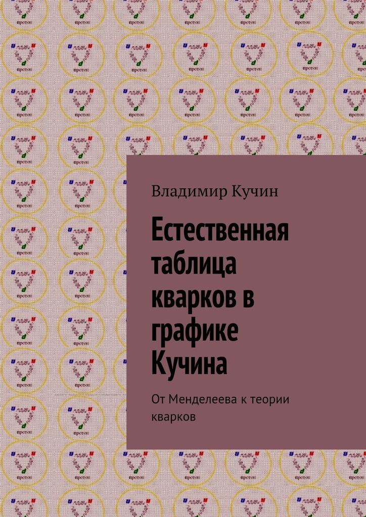 Владимир Кучин - Естественная таблица кварков в графике Кучина. ОтМенделеева ктеории кварков